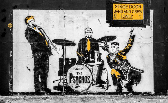PUNK + ROCKER - Band - Artist Websites die funktionieren