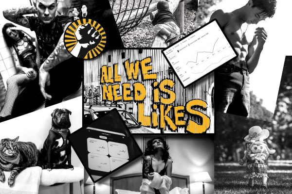 PUNK + ROCKER - Social Media Ads - Yes we rrroock!